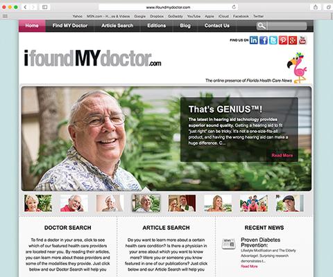 iFoundMYdoctor Website